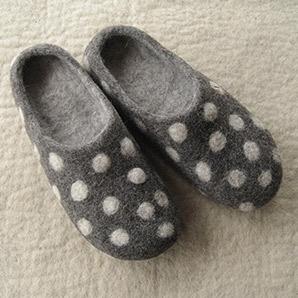 Pantoffeln Sams grau